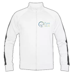 Men's Track Jacket White