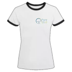 Women's Ringer T-Shirt White